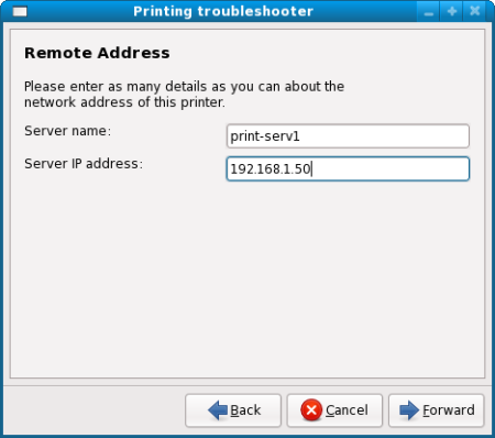 Remote address