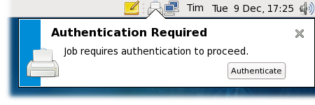 Authentication Required